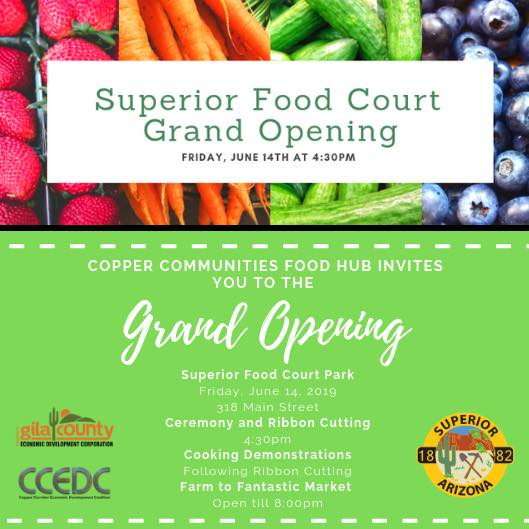 CCEDC part of Superior Food Court Opening